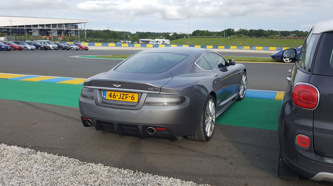Aston Martin DBS - Carspotting - 24h-Rennen Le Mans 2016