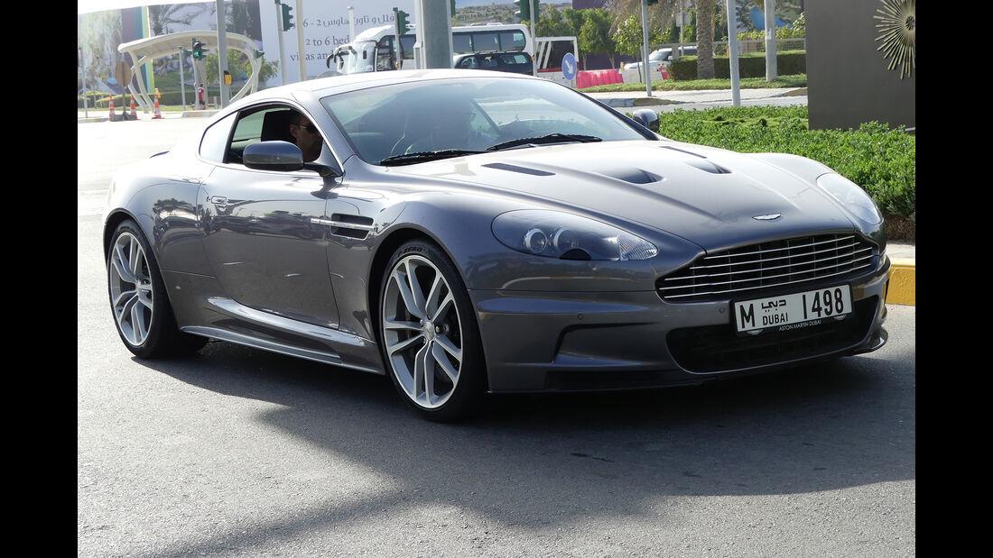 Aston Martin DBS - Carspotting - GP Abu Dhabi 2016