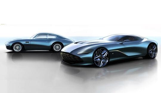 Aston Martin DBS GT Zagato und DB4 GT Zagato