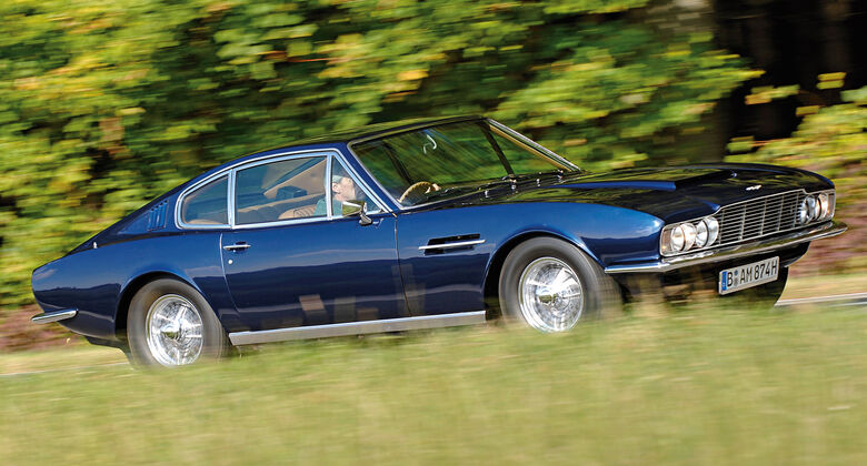 Aston Martin DBS, Seitenansicht