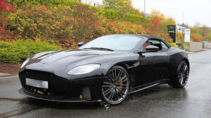 Aston Martin DBS Superleggera Volante Erlkönig