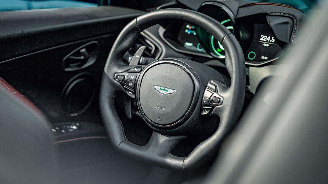 Aston Martin DBS Superleggera Volante, Interieur