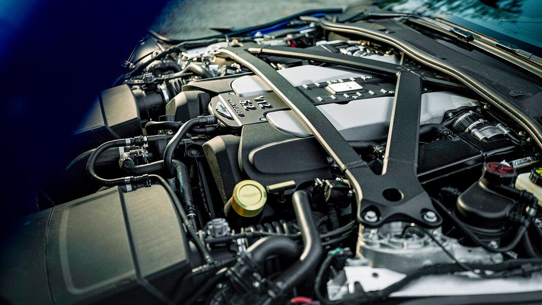 Aston Martin DBS Superleggera Volante, Motor