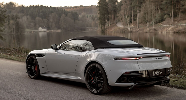 Aston Martin Dbs Superleggera Volante 2019 Infos Marktstart Preis Auto Motor Und Sport