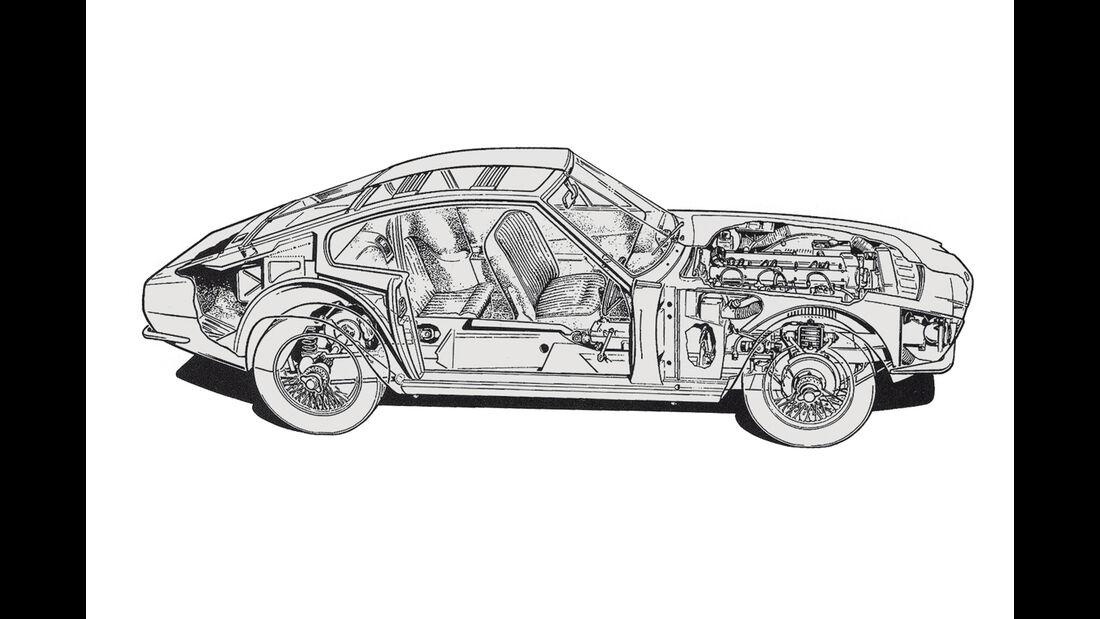 Aston Martin DBS Vantage,  Durchsicht