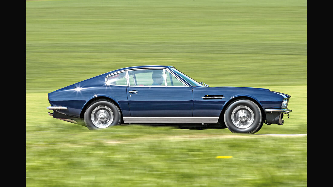 Aston Martin DBS Vantage,  Seitenansicht