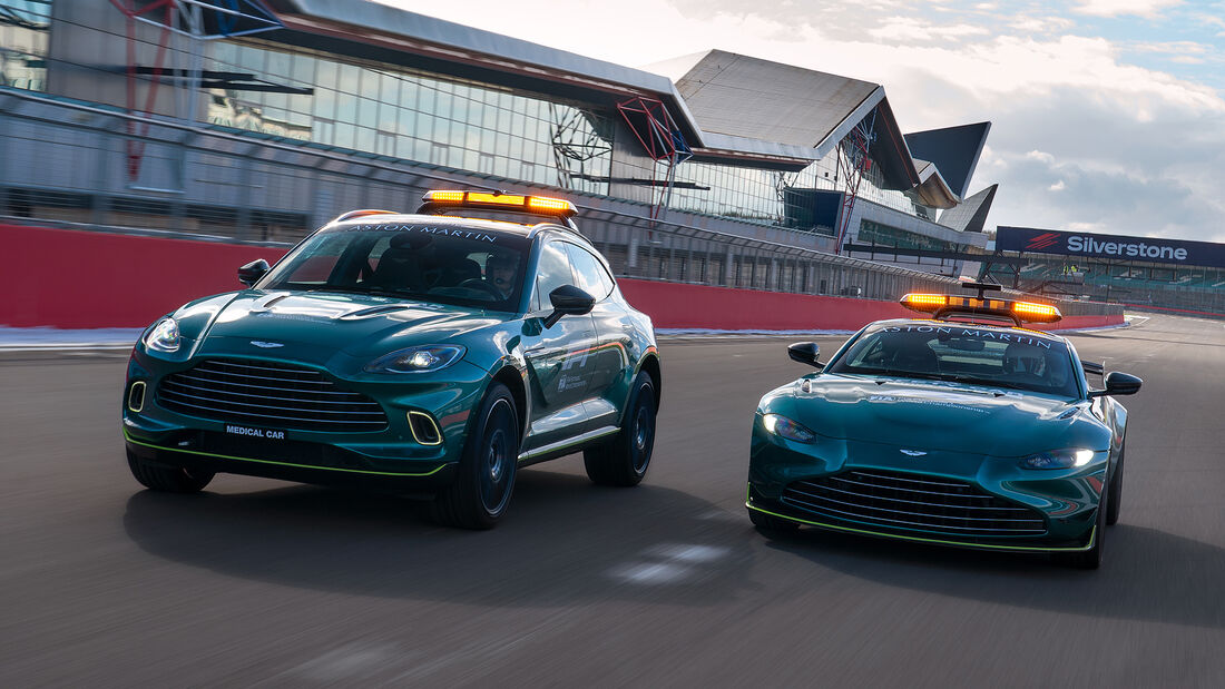 Aston Martin DBX - Medical-Car - Formel 1 - 2021