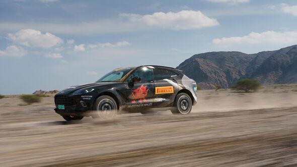 Aston Martin DBX PROTOTYPE DRIVE OMAN