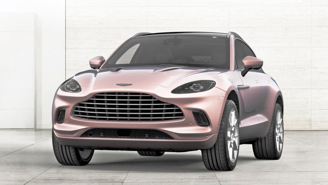 Aston Martin DBX Pink