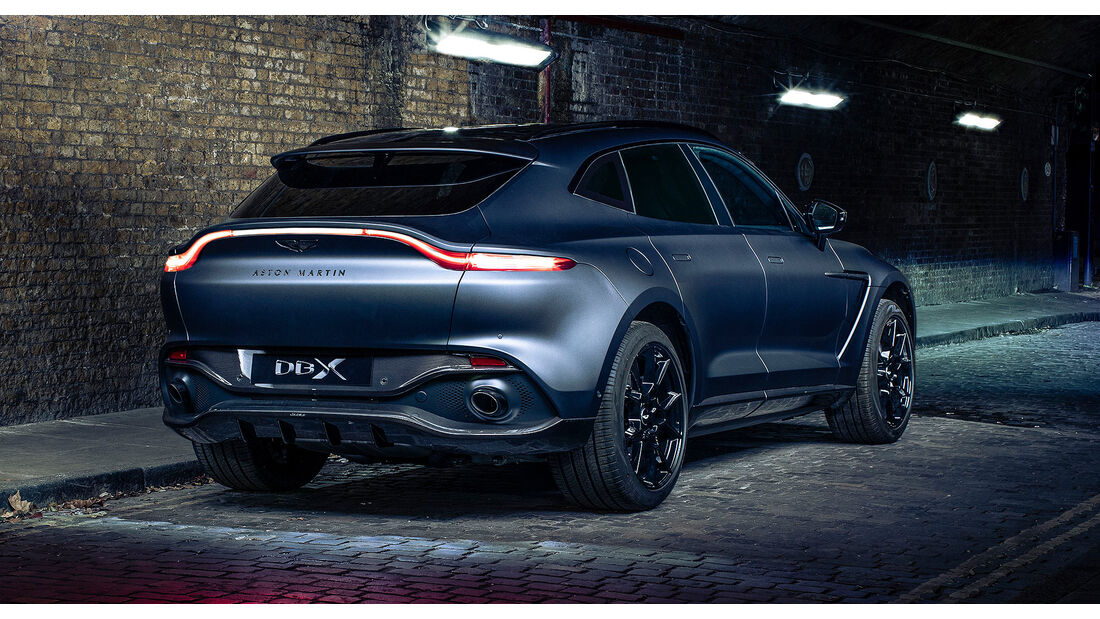 Aston Martin DBX by Q