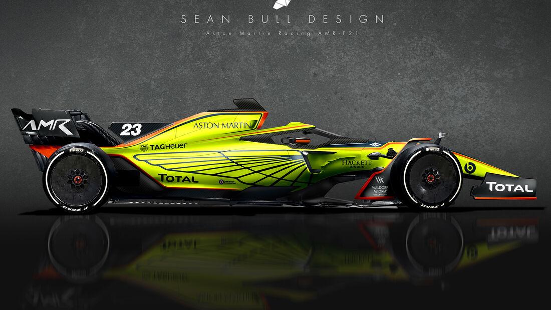 Aston Martin - F1 2021 - Concept - Sean Bull Design