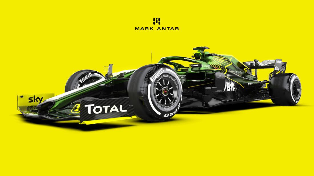 Aston Martin - F1-Concept - Mark Antar Design