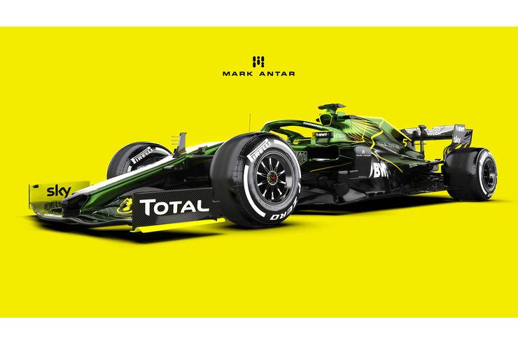 Racing Point nicht mehr rosa: Aston fährt in britischem Grün