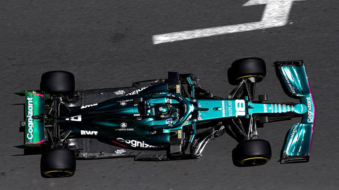 Aston Martin - Formel 1 - GP Aserbaidschan 2021