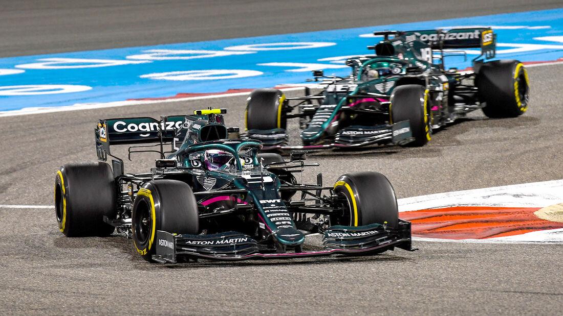 Aston Martin - Formel 1 - GP Bahrain 2021
