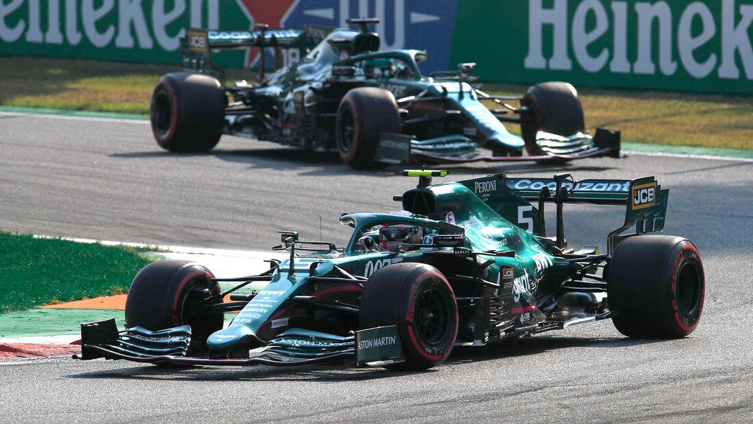 Aston Martin - Formel 1 - GP Italien - Monza - 2021