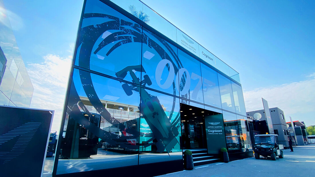 Aston Martin - Formel 1 - GP Italien - Monza - 9. September  2021
