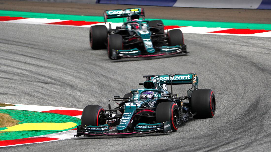 Aston Martin - Formel 1 - GP Österreich 2021