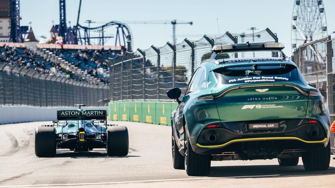 Aston Martin - Formel 1 - GP Russland 2021