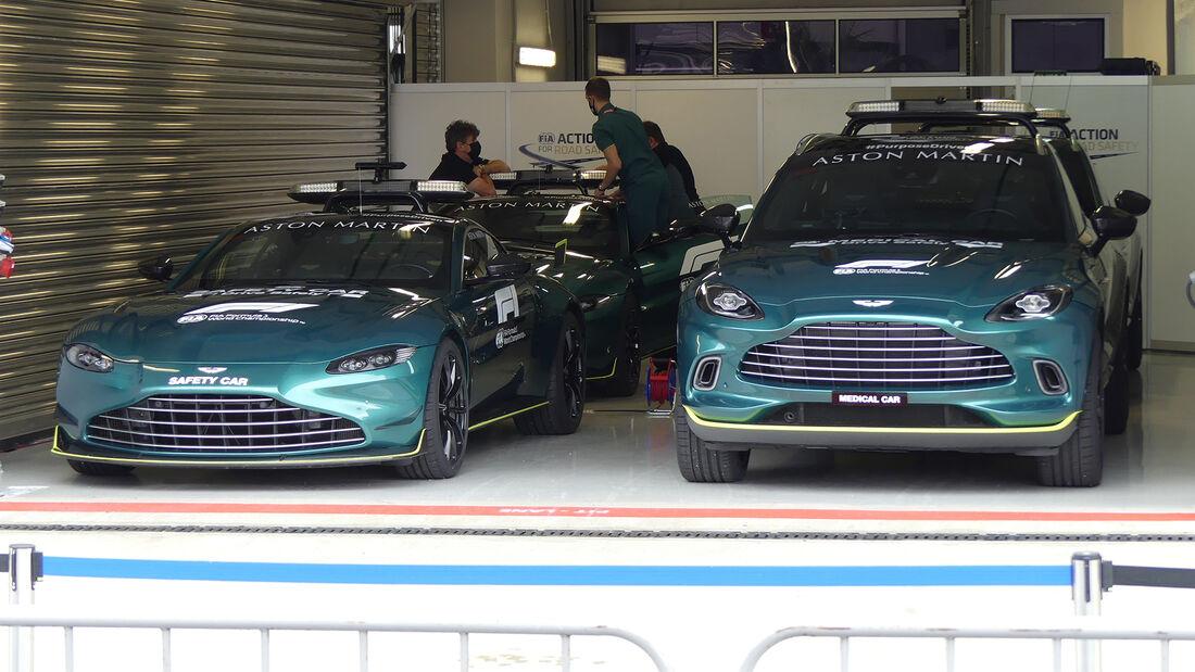 Aston Martin - Formel 1 - GP Russland - Sotschi - Donnerstag - 23.09.2021
