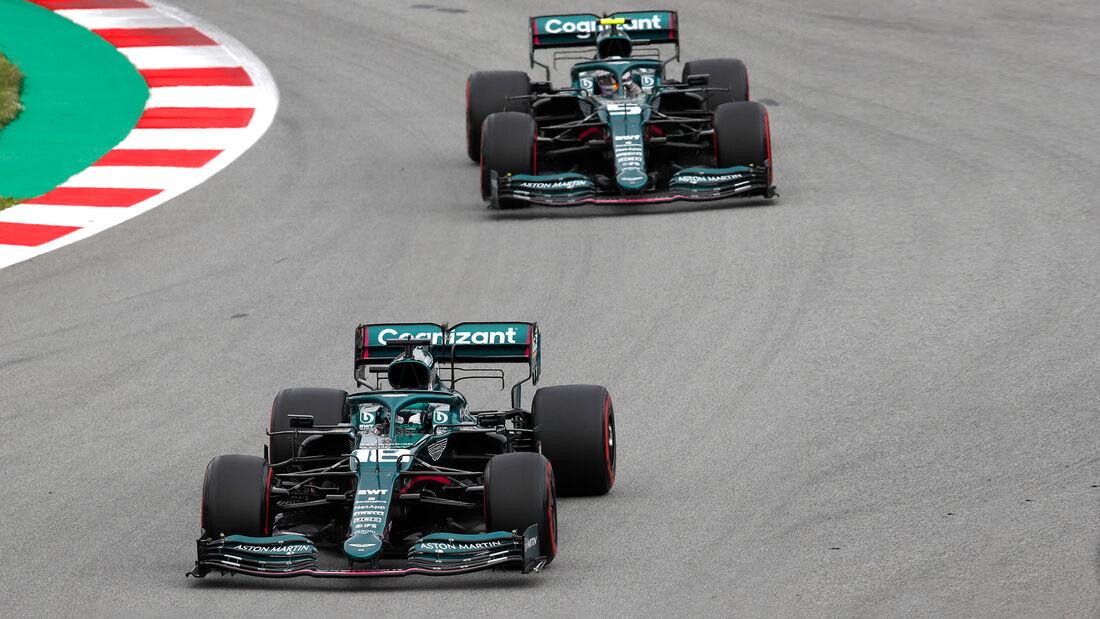 Aston Martin - Formel 1 - GP Spanien 2021