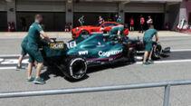 Aston Martin - Formel 1 - GP Spanien - Donnerstag - 6.5.2021