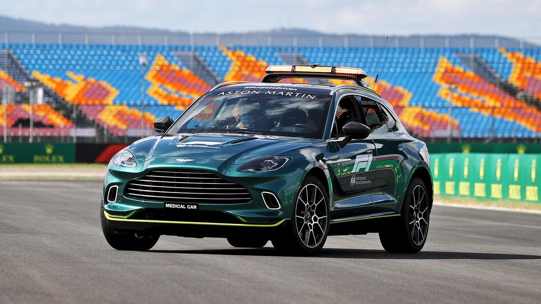 Aston Martin - Formel 1 - GP Türkei - Istanbul - 7. Oktober 2021