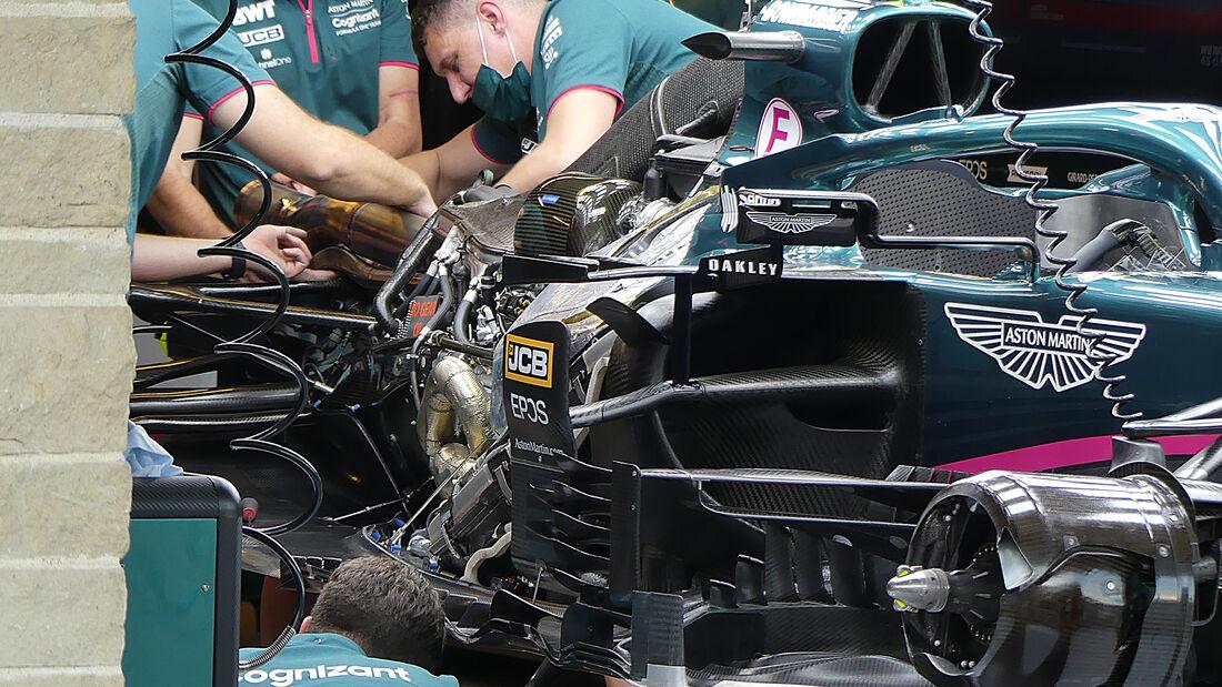 Aston Martin - Formel 1 - GP USA - Austin - Donnerstag - 21.10.2021
