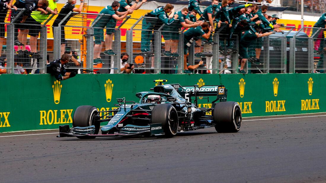 Aston Martin - Formel 1 - GP Ungarn 2021