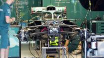 Aston Martin - Formel 1 - GP Ungarn - Budapest - Donnerstag - 29. Juli 2021