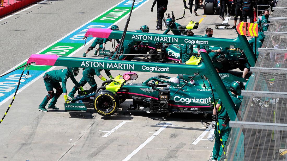 Aston Martin - Formel 1 - Imola - GP Emilia-Romagna - 16. April 2021