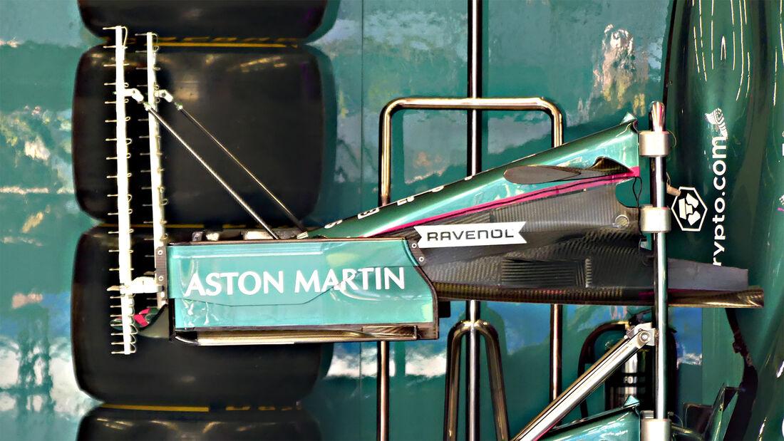Aston Martin - Formel 1 - Istanbul - GP Türkei - 7. Oktober 2021