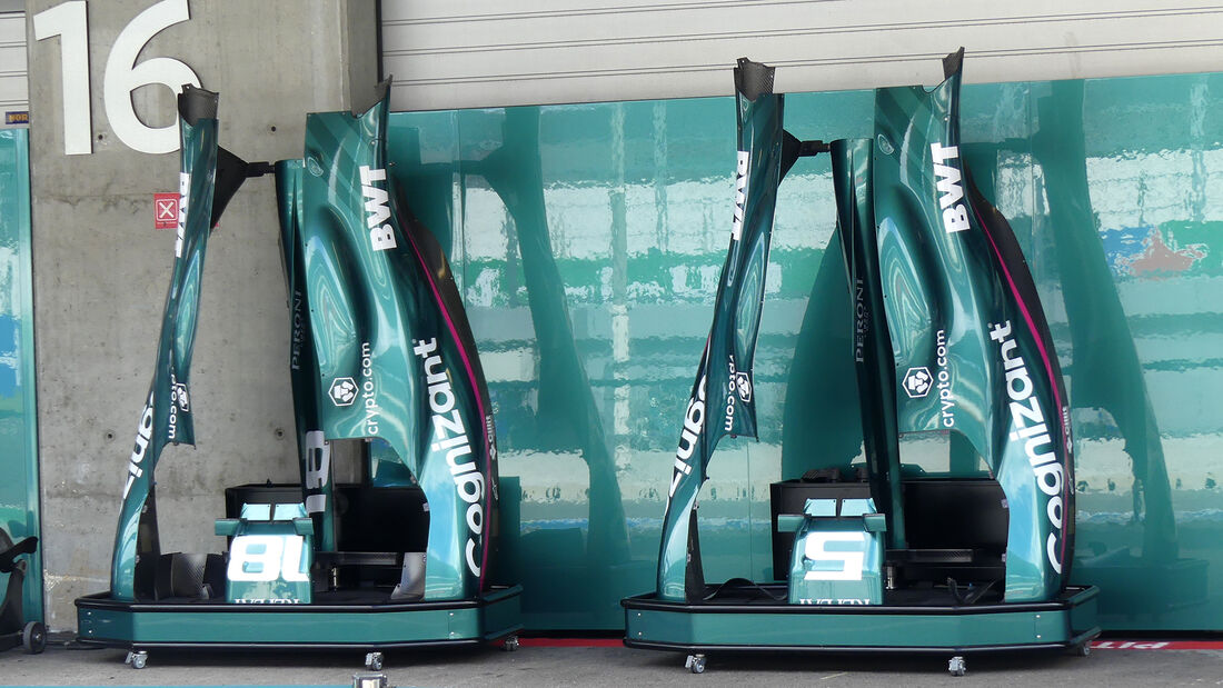 Aston Martin - Formel 1 - Portimao - GP Portugal - 29. April 2021