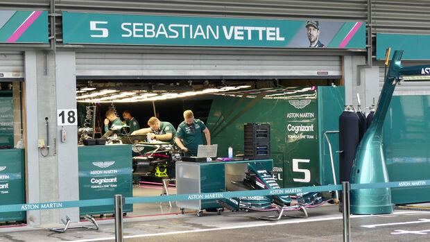Aston Martin - GP Belgien - Spa-Francorchamps - 26. August 2021