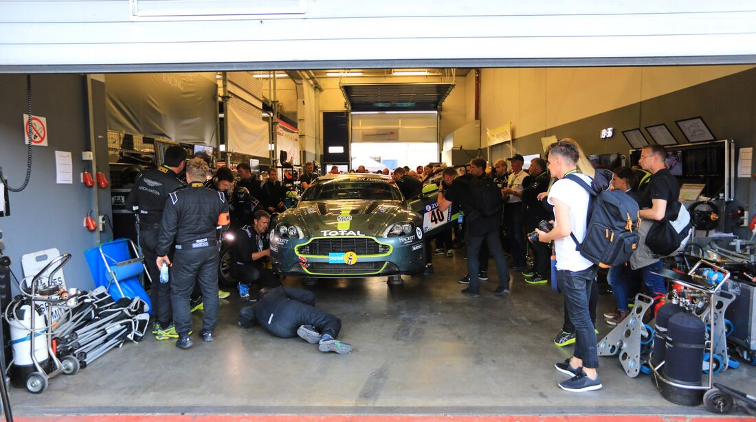 Aston Martin GT8 - #40 - 24h Rennen Nürburgring 2018 - Nordschleife