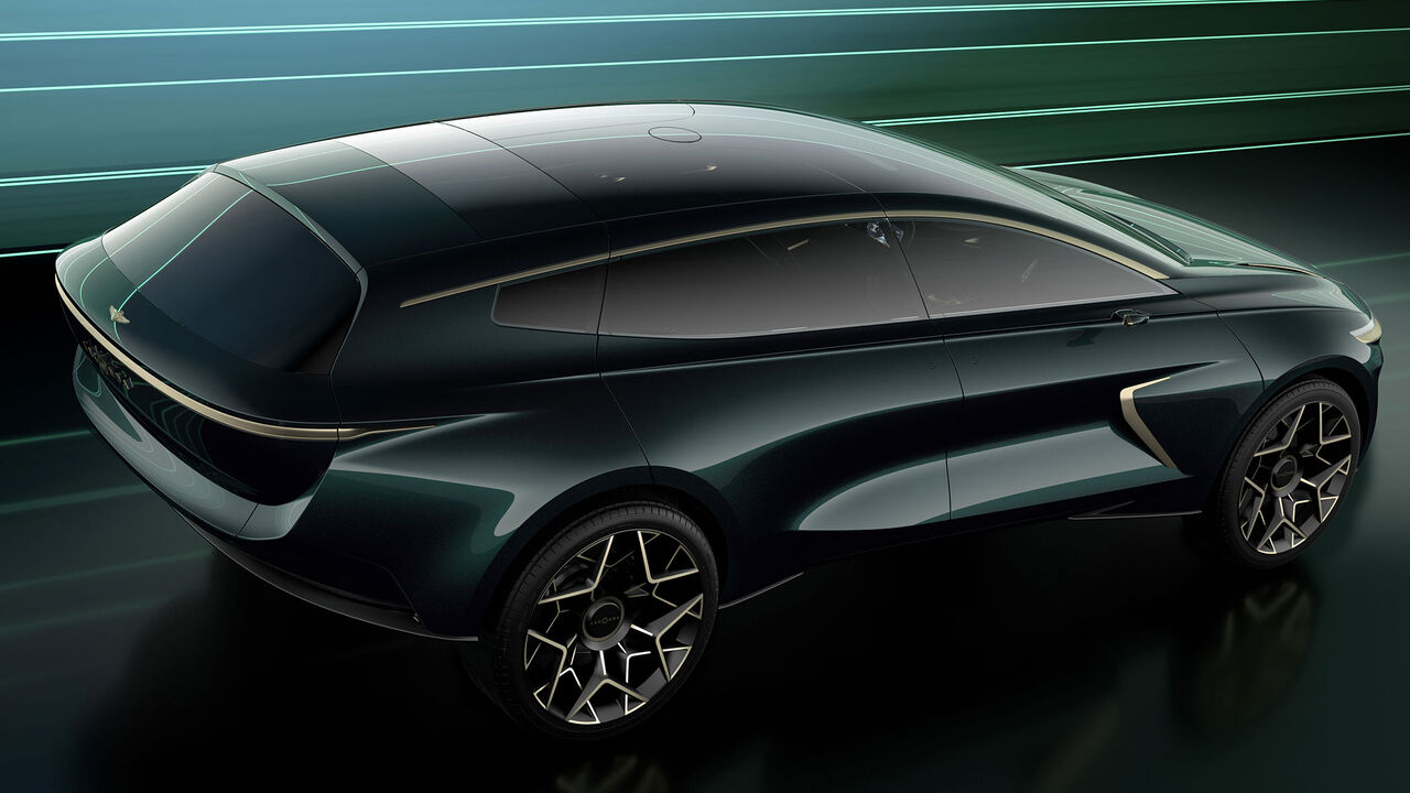 Lagonda All Terrain Concept 2022 Aston Martin Zeigt E Suv Auto Motor Und Sport
