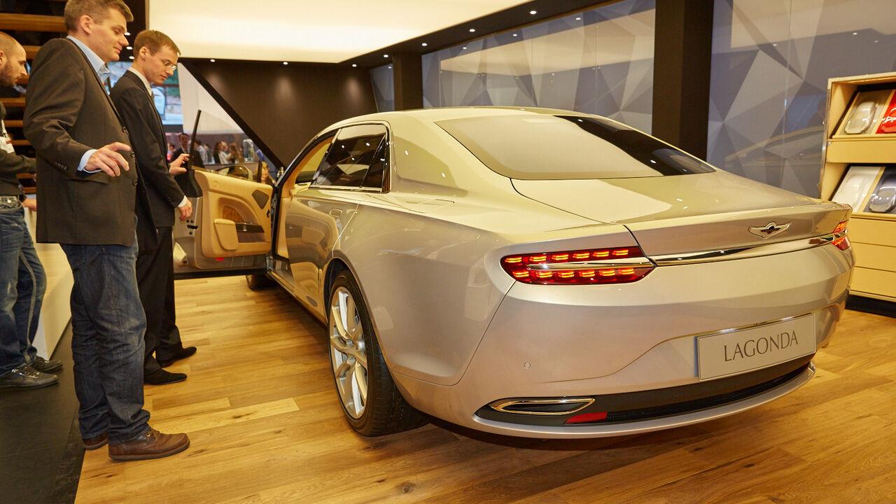 Aston Martin Lagonda Taraf Kostet 1 Mio Euro Auto Motor Und Sport