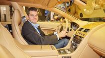 Aston Martin Lagonda Taraf Sitzprobe