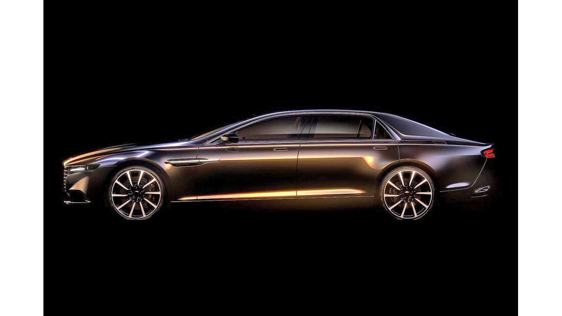 Aston Martin Lagonda Teaser