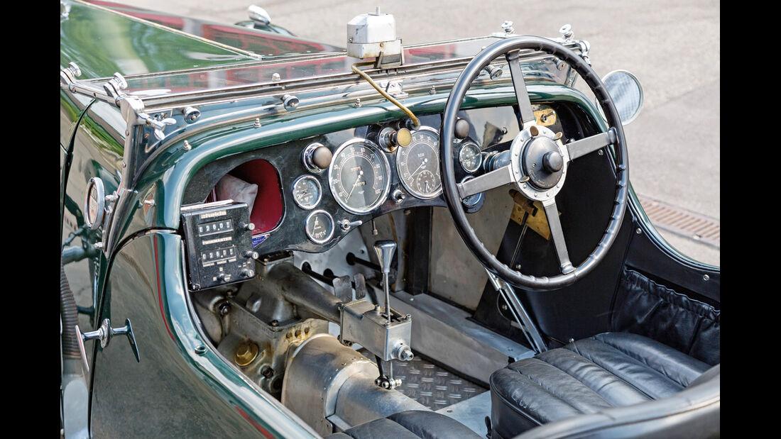 Aston Martin MK II, Cockpit, Lenkrad