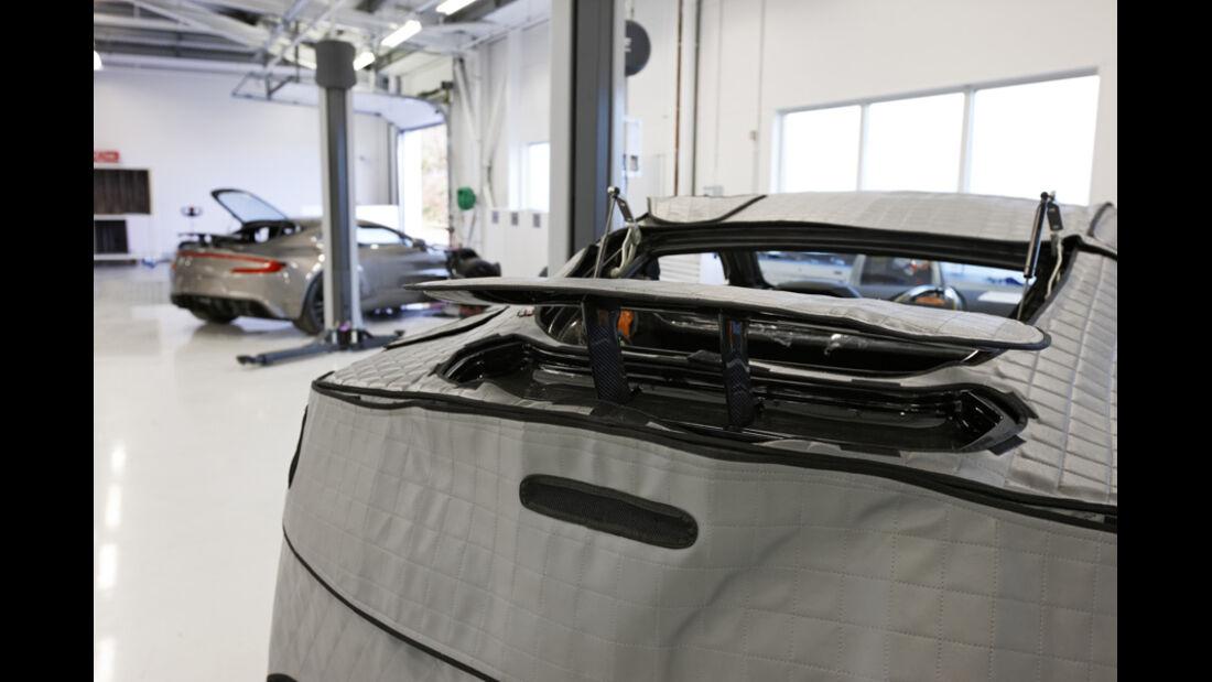Aston Martin One-77, Heckspoiler