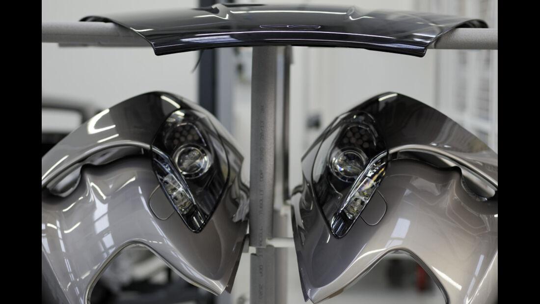 Aston Martin One-77, Kotflügel