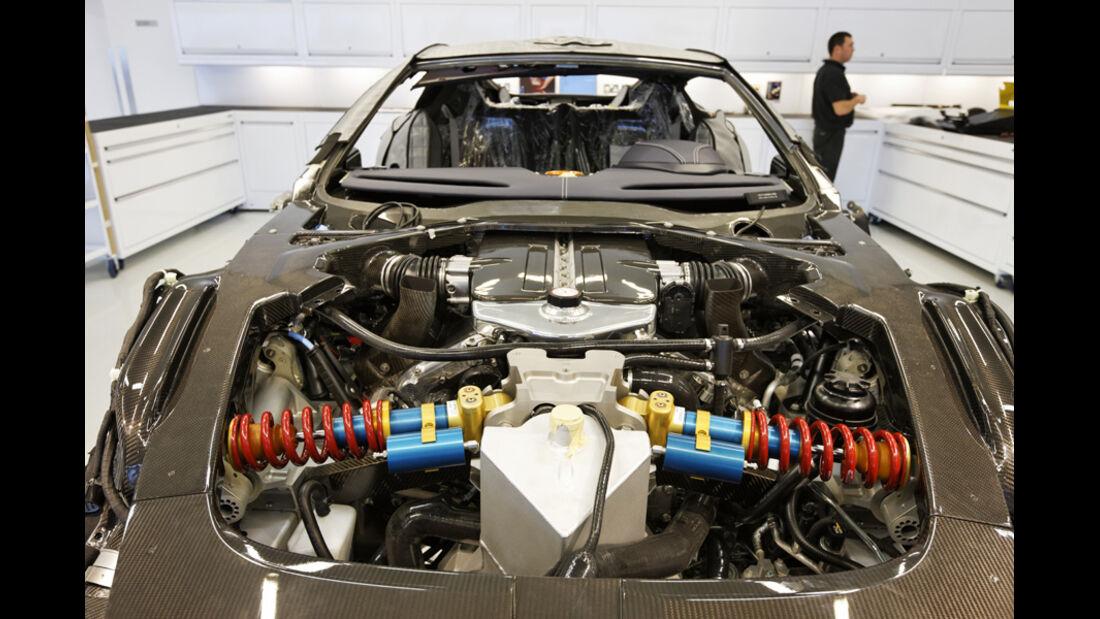 Aston Martin One-77, Motorraum