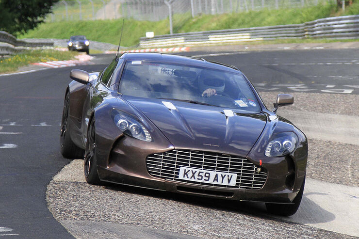 Aston Martin One-77 Nürburgring