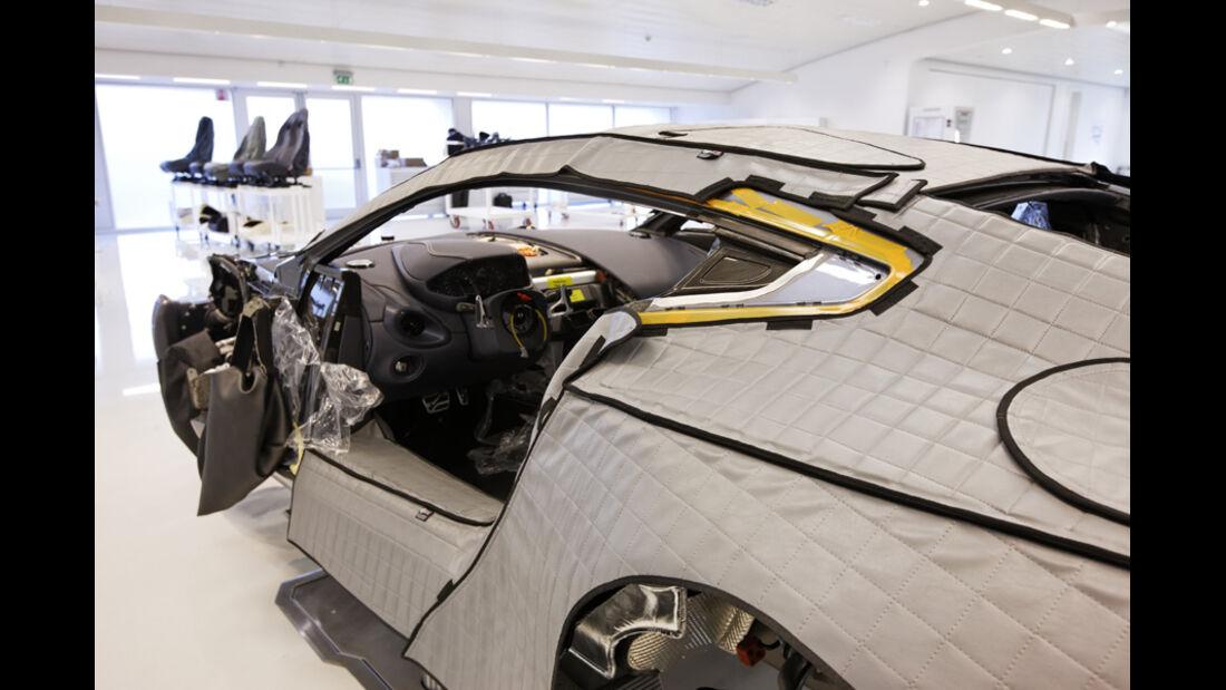 Aston Martin One-77, Rohbau
