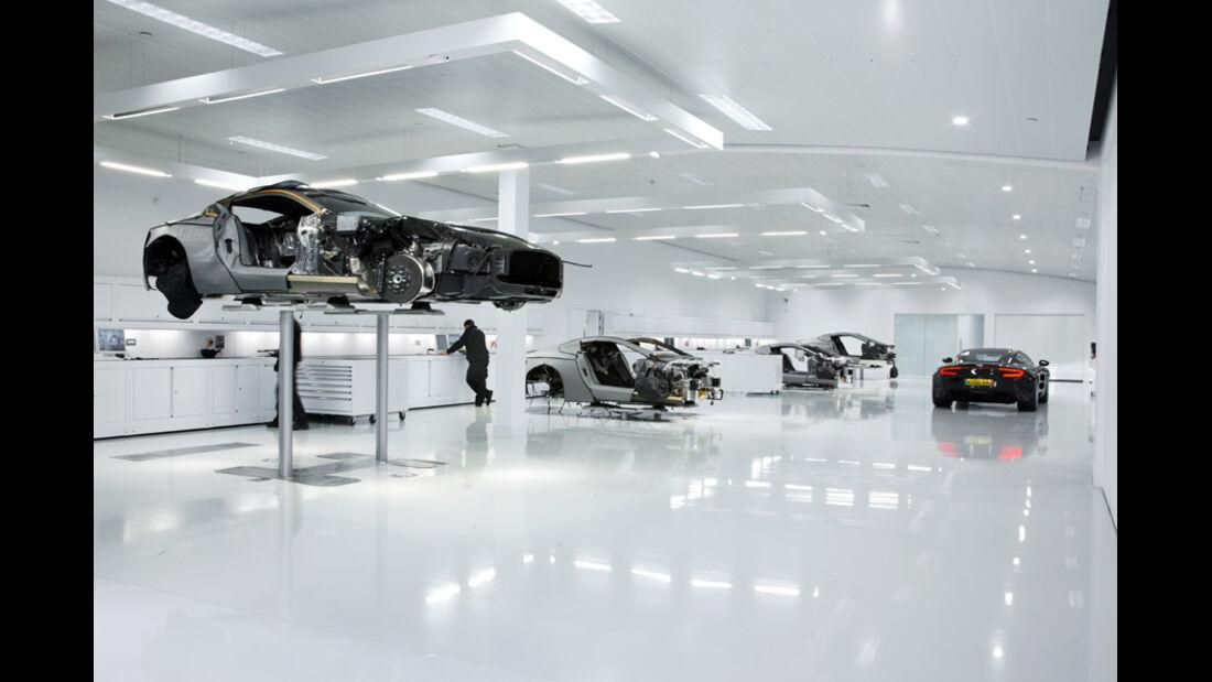 Aston Martin One-77, Werk in Gaydon