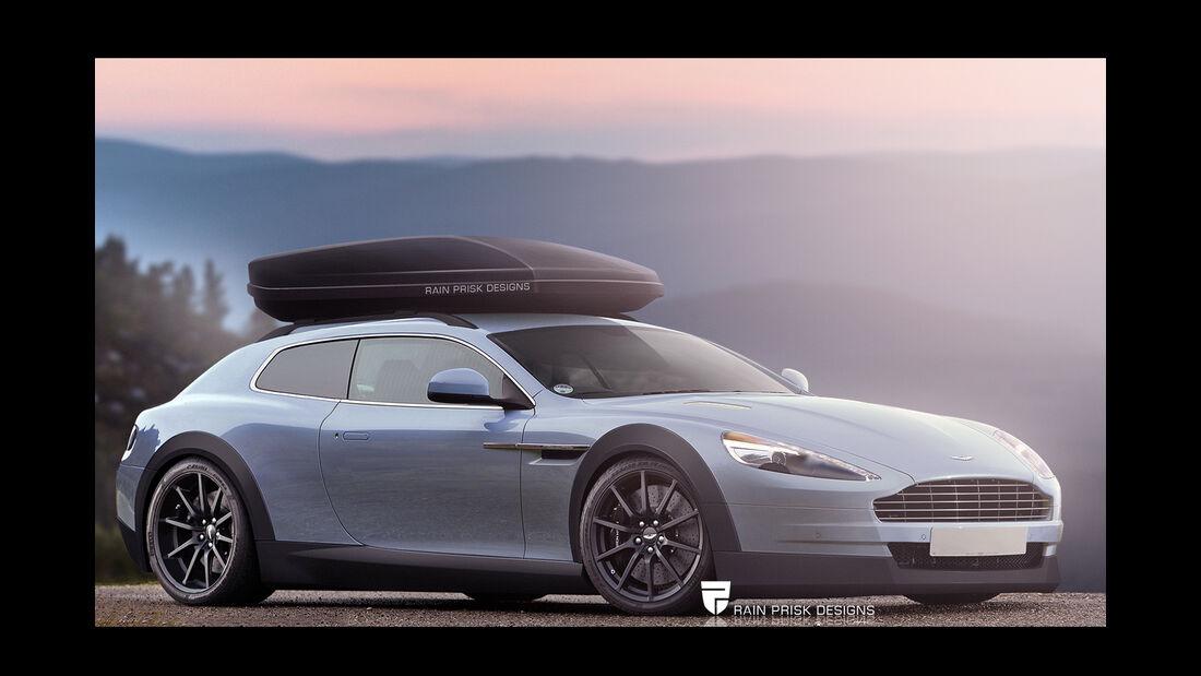 Aston Martin - Photoshop - Shooting Brake - Rain Prisk 2015