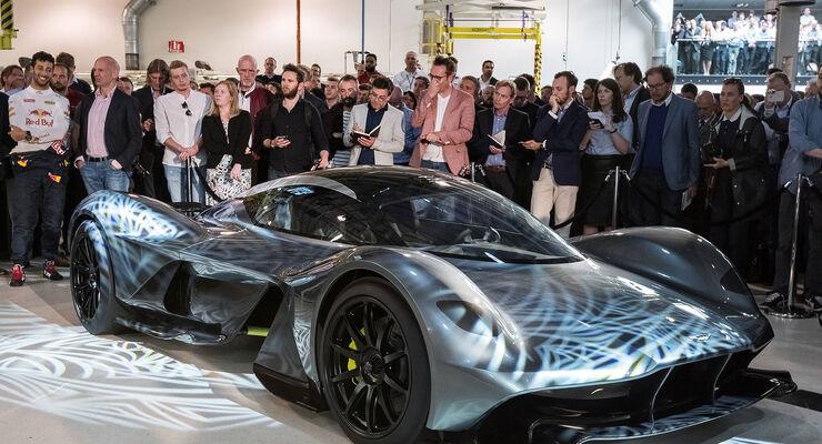 Aston Martin Valkyrie Rb 001 Neweys Traum Supersportler Auto Motor Und Sport