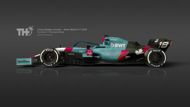 Aston Martin Racing Point - Photoshop - Tim Holmes Design - 2019