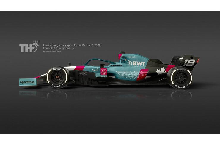 Stroll Einstieg Bei Aston Martin Racing Point Wird F1 Werksteam Auto Motor Und Sport